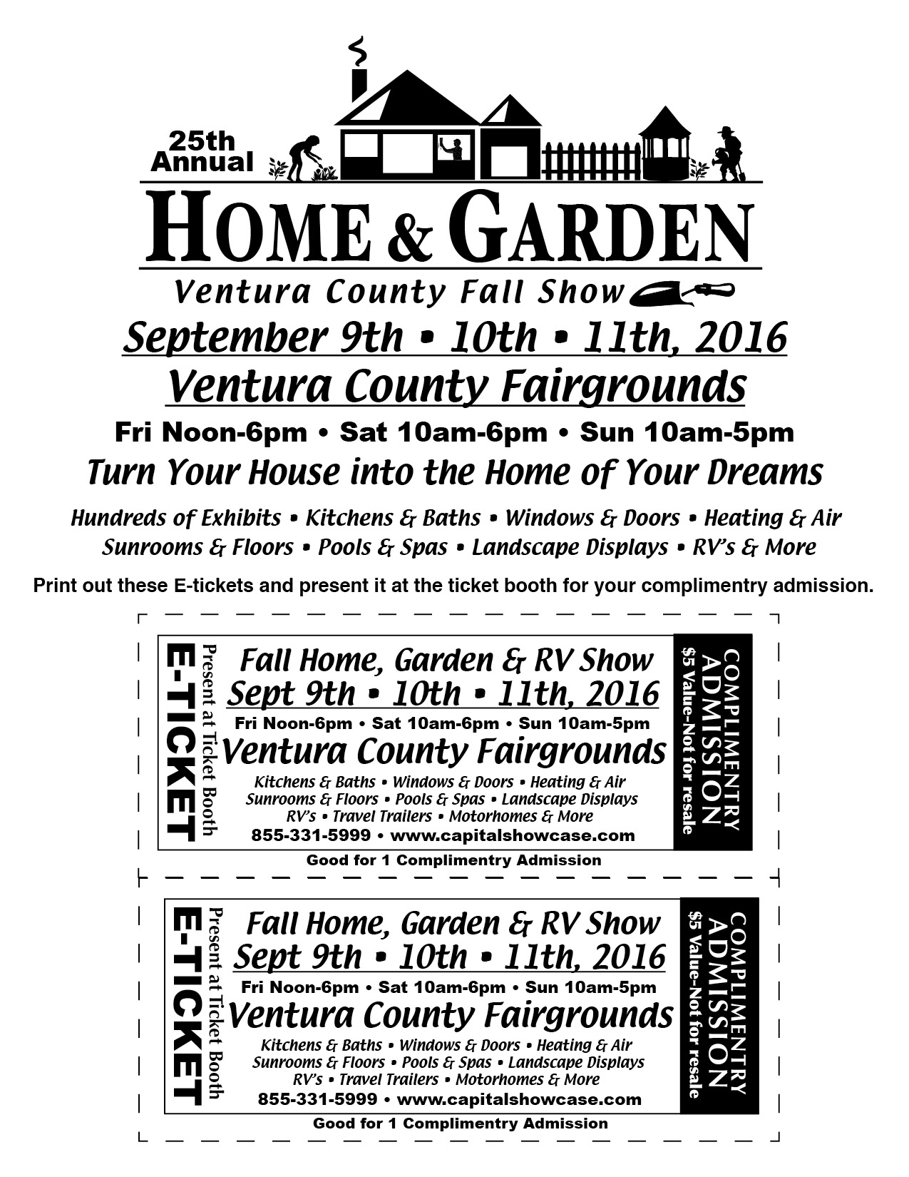 Come Out And See Us At The Home And Garden Show At The Ventura Fair Grounds!